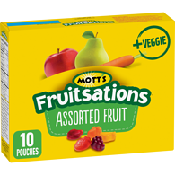 Fruitsations + Veggie Assorted Fruit Flavoured Snacks