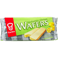Cream Wafers, Lemon Flavour
