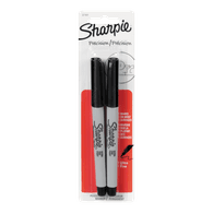Ultra Fine Poin Permanent Markers, Black