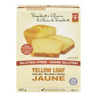 Gluten-Free Yellow Loaf Cake Mix