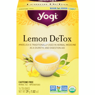 Lemon Detox Herbal Tea