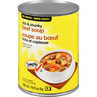 Rich & Chunky Beef Soup