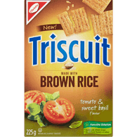 Triscuit Brown Rice, Tomato Basil
