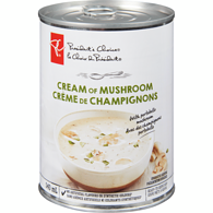 Ready-To-Serve Soup, Cream Of Mushroom