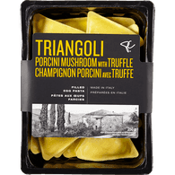 Triangoli Porcini Mushroom with Truffle Filled Egg Pasta