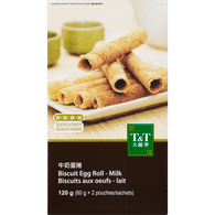 Milk Biscuit Egg Roll