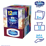 2-PLY Facial Tissue