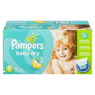 Baby Dry, Super Economy Pack Size 6 Diapers
