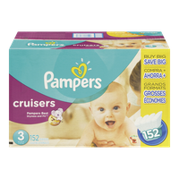 Cruisers, Super Economy Pack Size 3 Diapers
