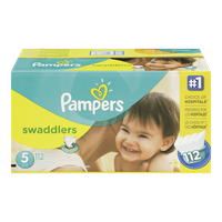 Swaddlers, Super Economy Pack Size 5 Diapers