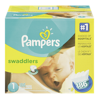 Swaddlers, Super Economy Pack Size 1 Diapers
