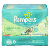 Baby Wipes, Natural Clean