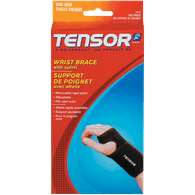 Wrist Brace With Splint, Reversible