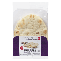 Naan, Mini Garlic