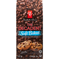 The Decadent Cookies, Chocolate Chip Soft Baked