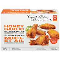Chicken Wings with Sauce, Honey Garlic