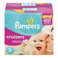 Cruisers, Super Pack Size 5 Diapers
