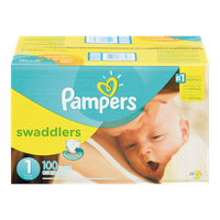 Swaddlers, Super Pack Size 1 Diapers
