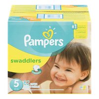 Swaddlers, Super Pack Size 5 Diapers