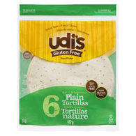 Gluten-Free Plain Tortillas