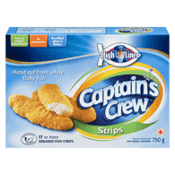 Captain's Crew Breaded Fish Strips