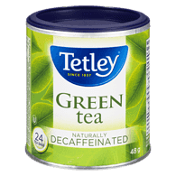 Green Tea, Naturally Decaffeinated