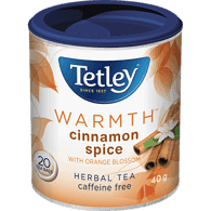 Warmth Herbal Tea, Cinnamon Spice with Orange Blossom