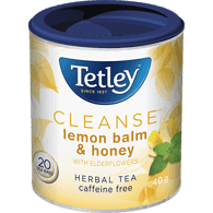 Cleanse Herbal Tea, Lemon Balm & Honey with Elderflowers