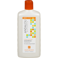 Moisture Rich Shampoo, Argan & Sweet Orange