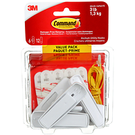 Command Adhesive Hooks, Medium