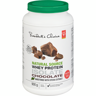 Natural Source Whey Protein Isolate Chocolate Protein Drink Mix Sweetened With Stevia Extract