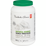 Natural Source Whey Protein Isolate Unflavoured Protein Drink Mix