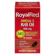 Royal Red Krill Oil Plus Extra Strength