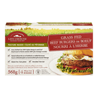 Grass Fed Beef Burgers