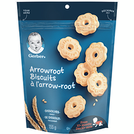 Gerber® Biscuits À L'Arrowroot, Collations Pour Bébés