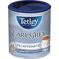 Earl Grey, Decaffeinated