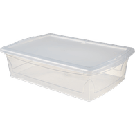 Clear Storage Box, 25L