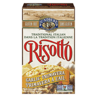 Risotto, Garlic Primavera