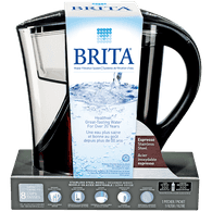 Water Filtration Pitcher, Espresso Stainless Steel