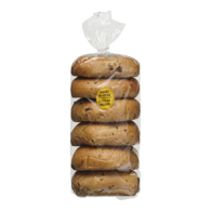 Bagels, Cinnamon Raisin Package of 6