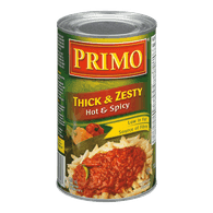 Pasta Sauce, Thick & Zesty Hot & Spicy