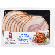 Naturally Smoked Bacon Rounds