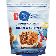 Blue Menu Muffin Mix, Cranberry Lemon Bran