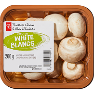 White Whole Mushrooms