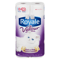 Velour Bathroom Tissue