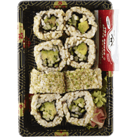 Brown Rice Avocado & Cucumber Roll