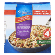 Skillet Meals, Family Size Alfredo Chicken