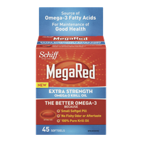 Omega-3 Krill Oil Extra Strength, 45 Softgels