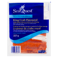 King Crab Flavoured Pollock, Leg Style