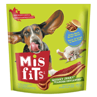 Quirky Jerky Treats for Dogs, Smoky Bacon Burger Flavour
